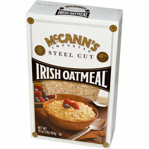 McCann's Irish Oatmeal, スティールカットオーツ, 16 oz (454 g) (Discontinued Item)