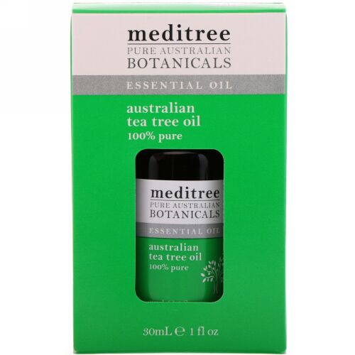 Meditree, ピュアオーストラリア産植物、100%ピュアオーストラリア産ティーツリーオイル、1液量オンス (30 ml) (Discontinued Item)