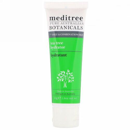 Meditree, ピュアオーストラリアン・ボタニカル、ティーツリーハイドレーター、オイリー・混合肌用、1.8 oz (50 g)
