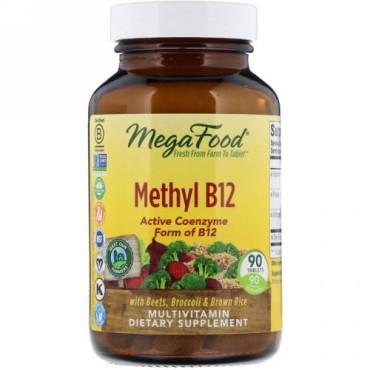 MegaFood, メチルB12,90錠