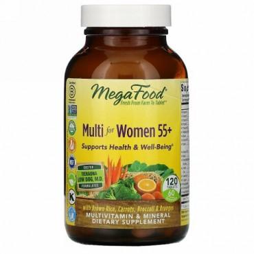 MegaFood, 55歳からの女性用マルチ、120粒