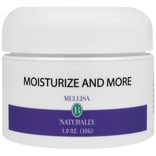 Mellisa B. Naturally, Moisturize and More, 1 oz (30 g) (Discontinued Item)