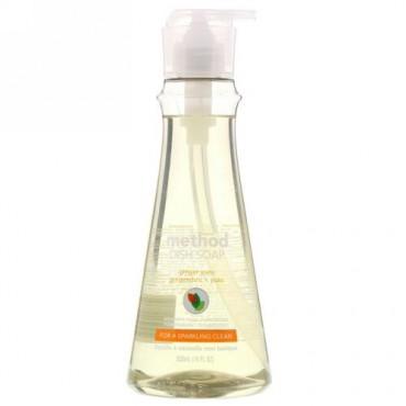 Method, メソッド, Dish Soap, Ginger Yuzu, 18 fl oz (532 ml) (Discontinued Item)