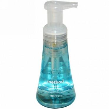Method, フォーミング・ハンドウォッシュ, 海のミネラル, 10 fl oz (300 ml) (Discontinued Item)