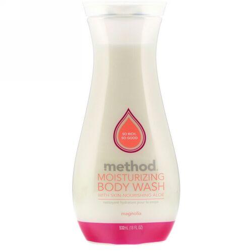 Method, Moisturizing Body Wash, Magnolia, 18 fl oz (532 ml) (Discontinued Item)