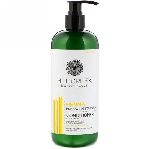 Mill Creek Botanicals, Henna Conditioner, Enhancing Formula, 14 fl oz (414 ml)