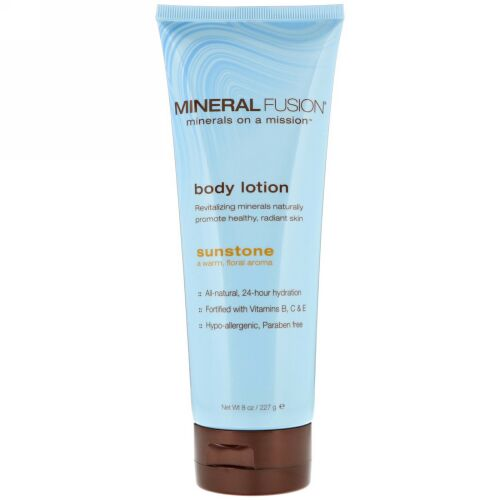 Mineral Fusion, Body Lotion, Sunstone, 8 oz (227 g) (Discontinued Item)