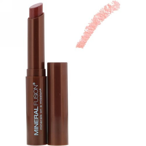 Mineral Fusion, Lipstick Butter, Pomegranate, 0.14 oz (4 g) (Discontinued Item)