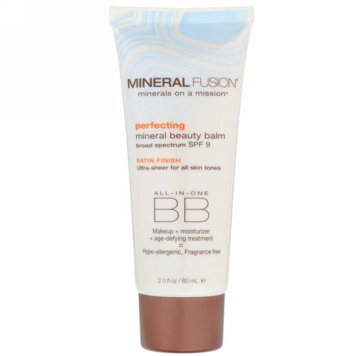 Mineral Fusion, Mineral Beauty Balm, SPF 9, Perfecting, 2.0 oz (60 ml) (Discontinued Item)
