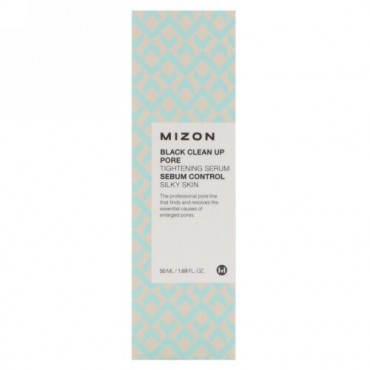 Mizon, ブラッククリーンアップ・毛穴引き締めセラム、1.69 fl oz (50 ml) (Discontinued Item)