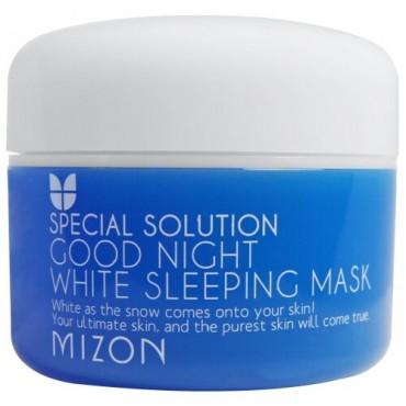 Mizon, スペシャルソリューション、 グッドナイト ホワイトスリーピング マスク、 2.70 fl oz (80 ml) (Discontinued Item)