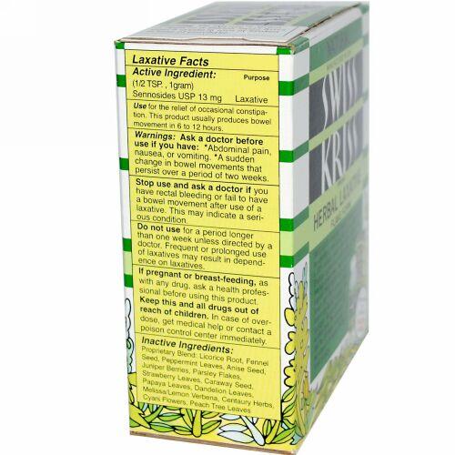Modern Products, Swiss Kriss ハーブ下剤、フレーク状、3-1/4 オンス(92 g) (Discontinued Item)
