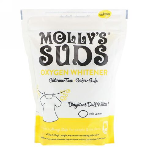Molly's Suds, 酸素系漂白剤、41.09 oz (1.15 kg)