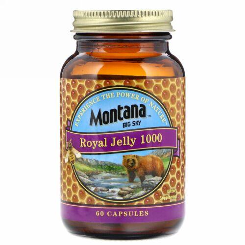 Montana Big Sky, Royal Jelly 1000, 60 Capsules (Discontinued Item)