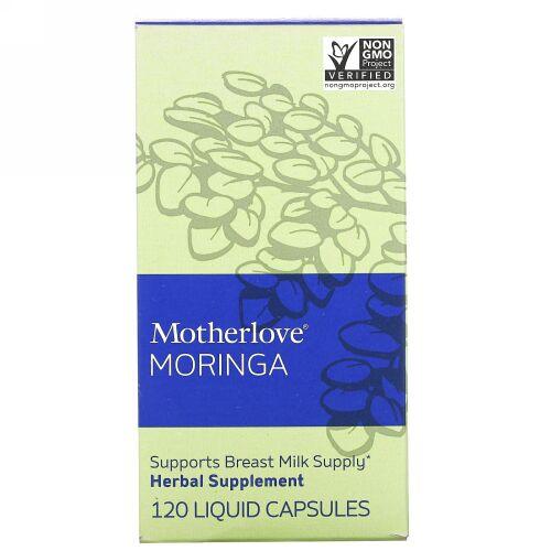Motherlove, Malunggay(モリンガ)、120液体カプセル