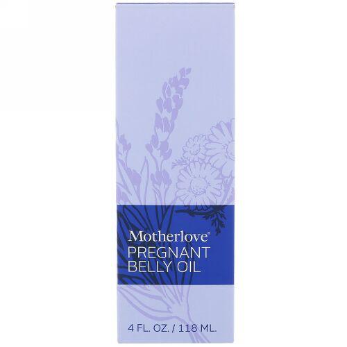 Motherlove, Pregnant Belly オイル, 4 オンス (118 ml) (Discontinued Item)