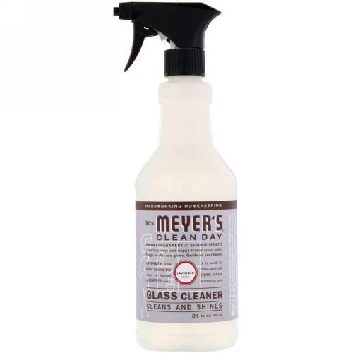 Mrs. Meyers Clean Day, ガラスクリーナー、ラベンダーの香り、24 fl oz (708 ml) (Discontinued Item)