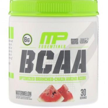 MusclePharm, Essentials(エッセンシャルズ)、BCAA、ウォーターメロン、216g(0.48ポンド)