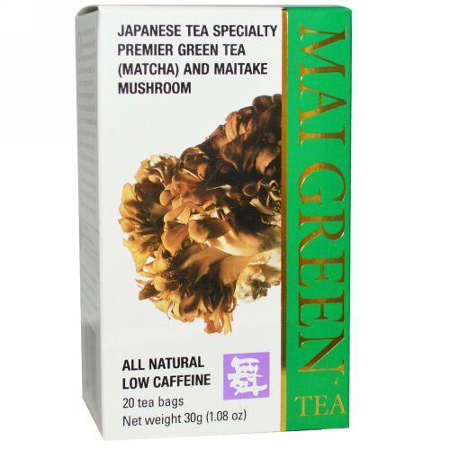 Mushroom Wisdom, マイグリーンティー, 20 ティーバッグ, 1.08 oz (30 g) (Discontinued Item)