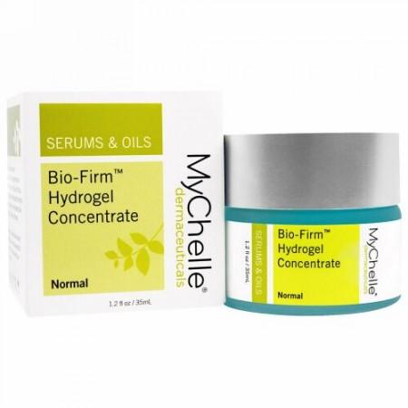 MyChelle Dermaceuticals, バイオファーム・ヒドロゲル・コンセントレート、通常、1.2 液体 オンス(35 ml) (Discontinued Item)