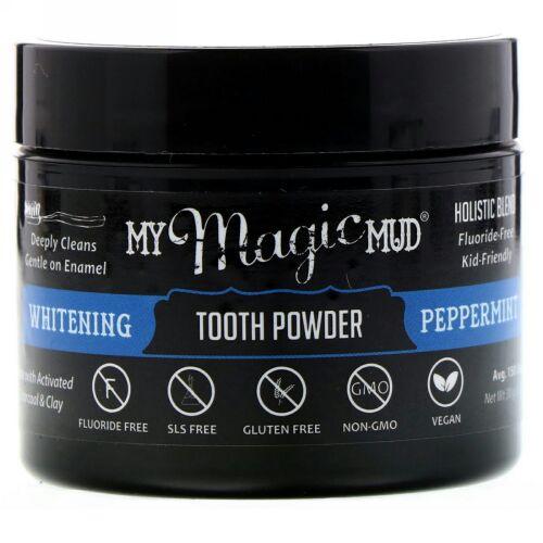 My Magic Mud, ホワイトニング歯磨き粉、ペパーミント、1.06 oz (30 g) (Discontinued Item)
