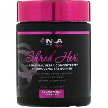 NLA for Her, Shred Her、ベジタリアンカプセル60個 (Discontinued Item)