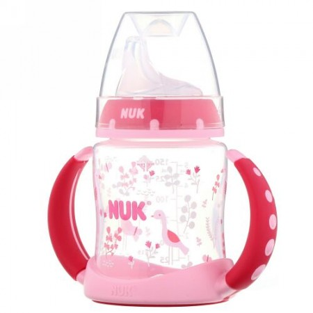 NUK, Learner Cup, 6+ Months, Pink, 1 Cup, 5 oz (150 ml)