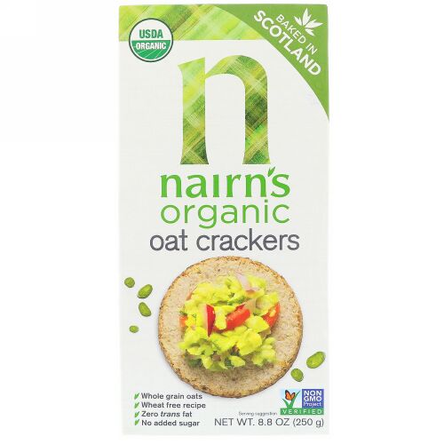 Nairn's, Organic Oat Crackers、8.8オンス(250 g) (Discontinued Item)