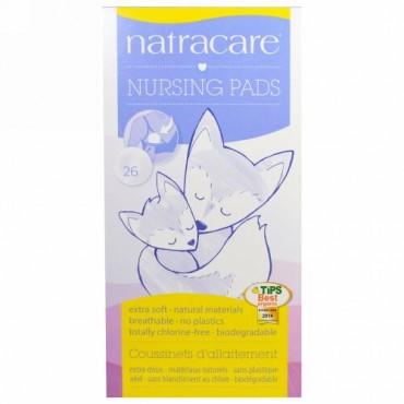 Natracare, 母乳パッド、26枚 (Discontinued Item)