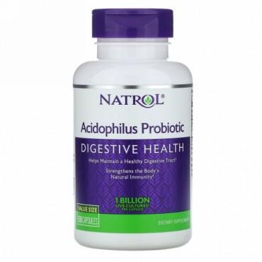 Natrol, アシドフィルスプロバイオティクス、10億、150粒