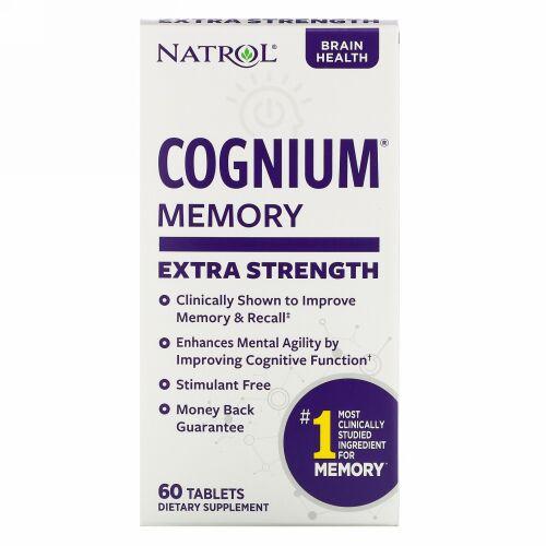 Natrol, Cognium、エクストラ ストレングス、200 mg、60錠
