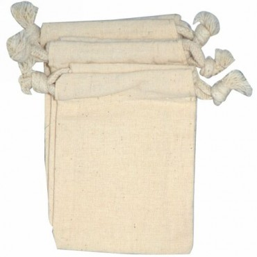 NaturOli, ムスリム巾着袋ウォッシュ・バッグ, 3袋 (Discontinued Item)