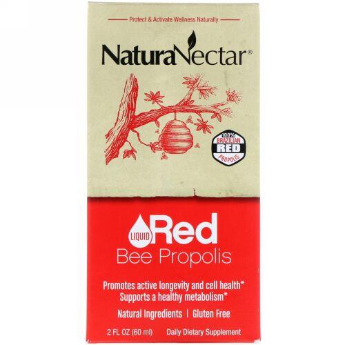 NaturaNectar, Red Bee Propolis, 2 fl oz (60 ml)