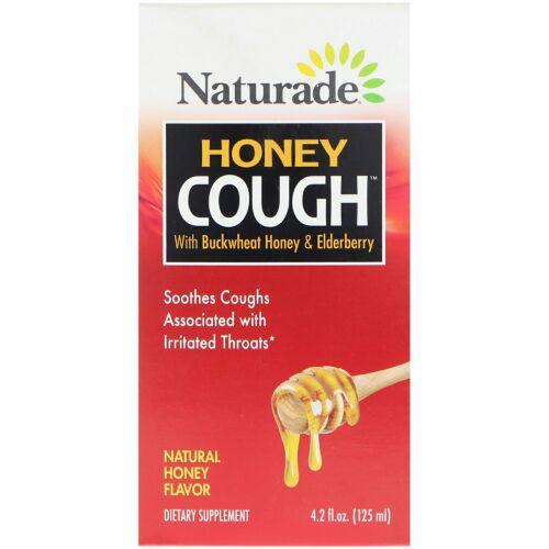 Naturade, ハニーコフ、そばハチミツ&エルダーベリー配合、天然ハチミツ風味、4.2液量オンス(125 ml) (Discontinued Item)