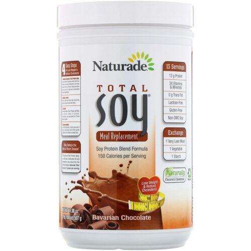 Naturade, Total Soy(トータルソイ)、食事代替品、バイエルンチョコレート、507g(17.88オンス)