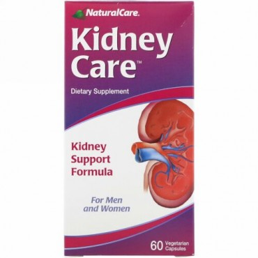 NaturalCare, Kidney Care、植物性カプセル 60粒