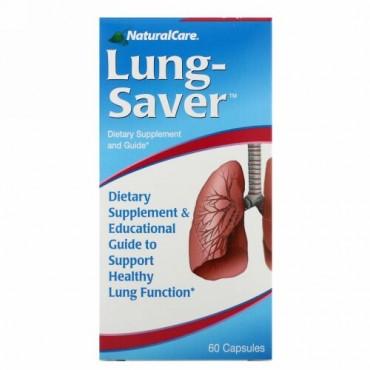 NaturalCare, Lung-Saver、60カプセル