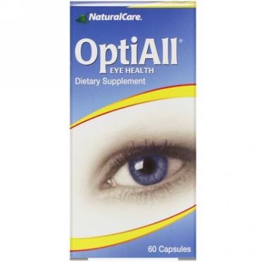 NaturalCare, オプティオールアイヘルス, 60 カプセル