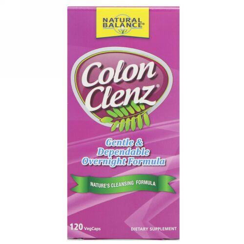 Natural Balance, Colon Clenz, 120 VegCaps