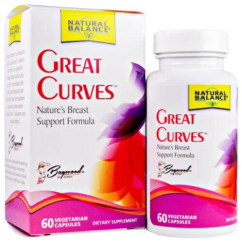 Natural Balance, Great Curves, 60 Vegetarian Capsules