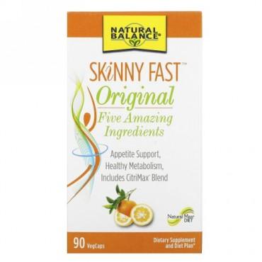 Natural Balance, SKiNNY FAST, Original, 90 Vegetarian Capsules