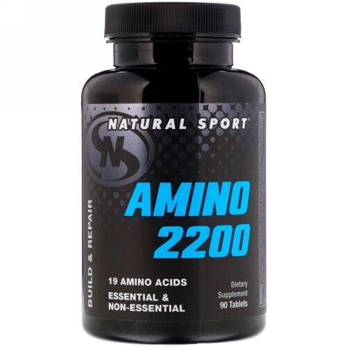 Natural Sport, アミノ2200、 90錠 (Discontinued Item)