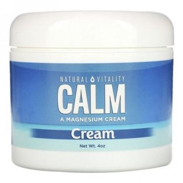 Natural Vitality, Natural Calm(ナチュラルカーム)クリーム, 4オンス
