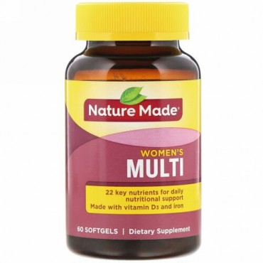 Nature Made, Women's Multi, 60 Softgels