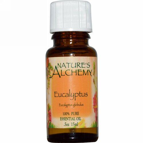 Nature's Alchemy, ユーカリ、エッセンシャルオイル、0.5オンス (15 ml) (Discontinued Item)