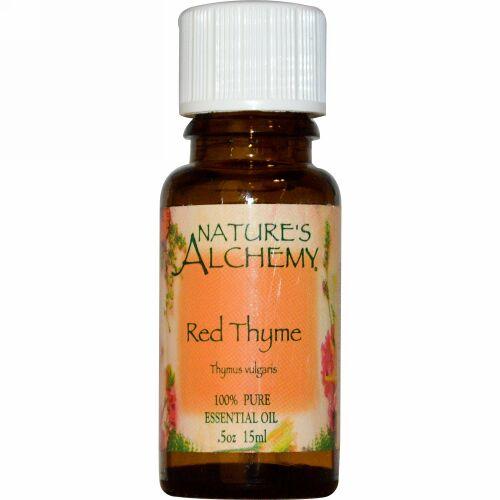 Nature's Alchemy, レッドタイム、 エッセンシャルオイル、 .5 oz (15 ml) (Discontinued Item)