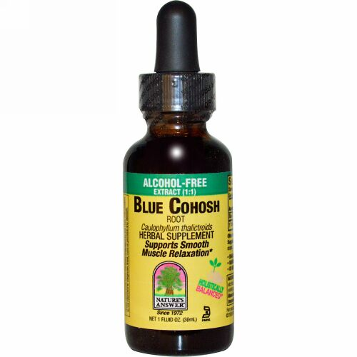 Nature's Answer, Blue Cohosh, 1,000 mg, 1 fl oz (30 ml) (Discontinued Item)