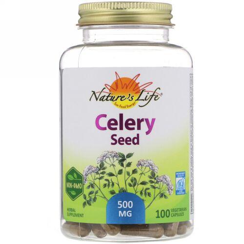 Nature's Herbs, Celery Seed, 100 Vegetarian Capsules