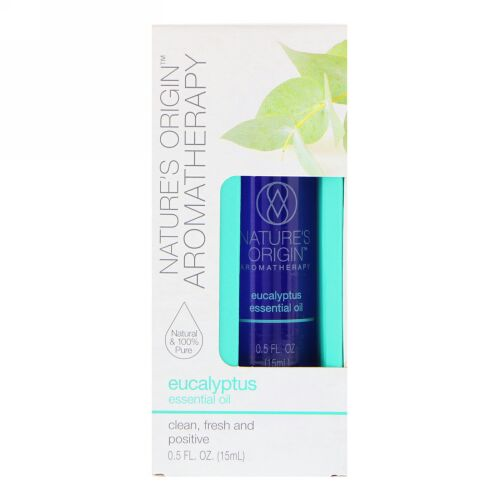 Nature's Origin, Aromatherapy, Essential Oil, Eucalyptus, 0.5 floz (15 ml) (Discontinued Item)