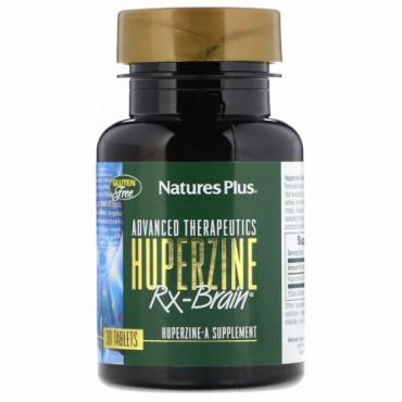 Nature's Plus, アドバンスト・セラピューティック、 Huperzine Rx-Brain、タブレット30 錠 (Discontinued Item)